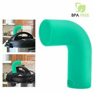Steam-Release-Diverter-Exhaust-Pipe-Tube-for-Instant-Pot-Protect-Cabinets-Green