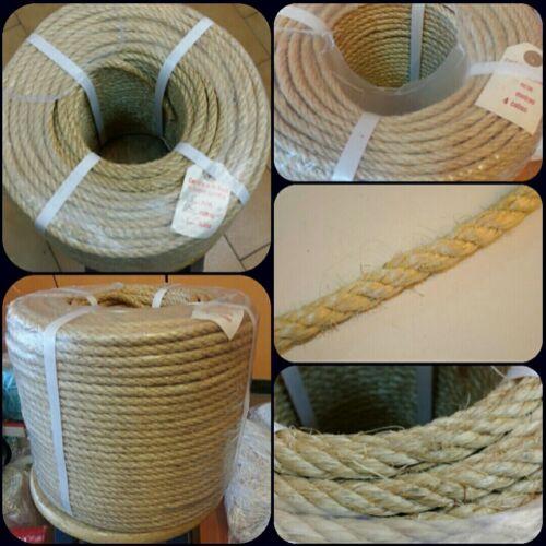 Rope rope line sisal 12mm por metres parcel service esparto