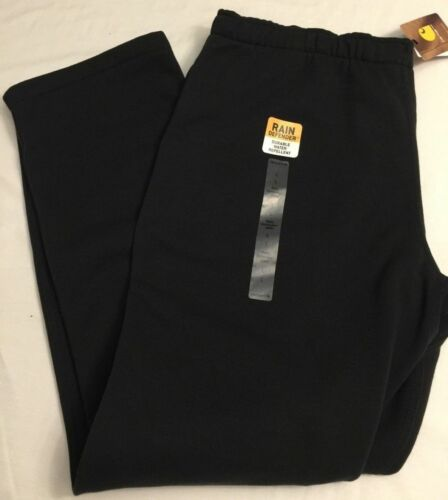 NWT Carhartt Avondale Rain Defender Sweat Pant Sweatpant Black /& Gray 102326 Men