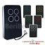 miniature 2 - TELECOMANDO COMPATIBILE CON BFT MITTO B RCB SERIE ROLLING CODE 433,92 MHZ