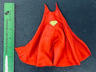 1//12 Long Red Wired Cape w// logo for Armor Superman No figure PB-C-7SUP