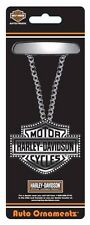 harley davidson motorcycle logo ornament necklace rear view mirror shield car HD