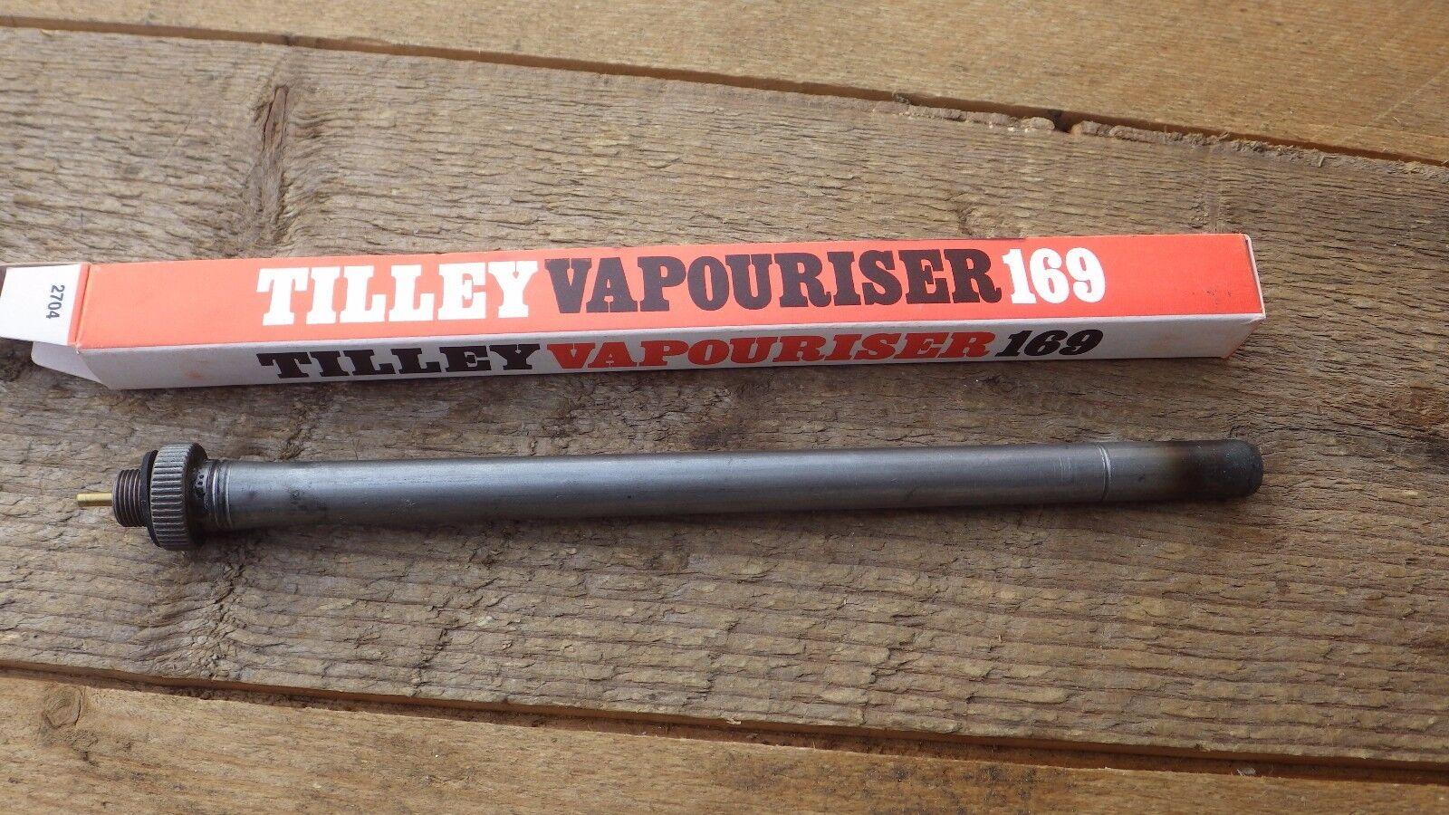 Tilley Lampada 169 Vaporizzatore 17.8cm Originale da Tavolo Generatore