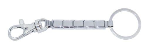 Llavero con clip de langosta brillante encanto italiano-se adapta a 9mm Clásico Italiano Charms