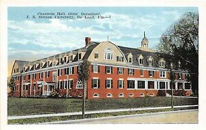 A85-Deland-Florida-Fl-Postcard-c1915-J-B-Stetson-University-Girls-Dorm