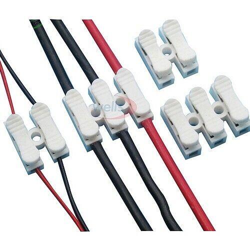 100 pack quick connectors 3 channels