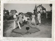 PHOTO ANCIENNE - VINTAGE SNAPSHOT - SPORT LOISIRS MINI GOLF MODE - FASHION 2