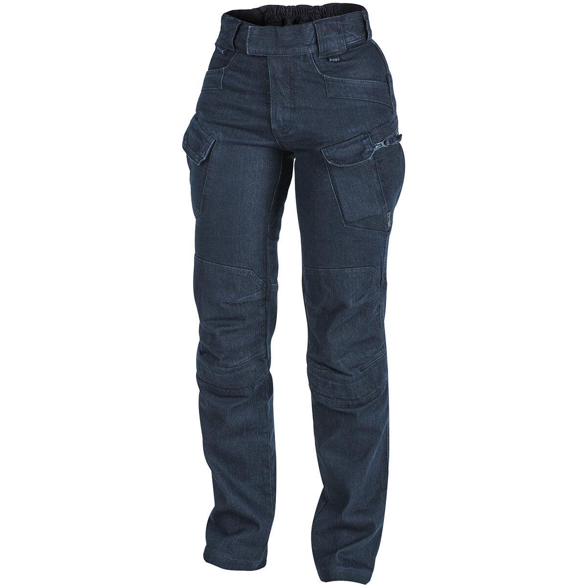 Helikon pantaloni UTP femminile Tactical Hire Combat Security Trousers Denim blu