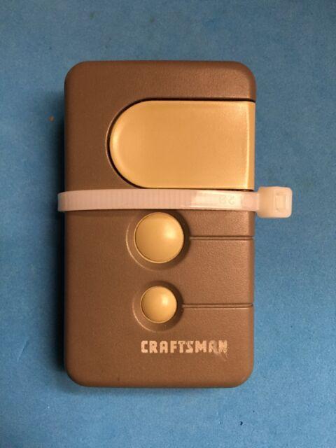Craftsman 3 Gray Button Garage Door Opener 139 53879