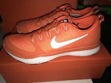 DS Nike Free Train Versatility TB Mens Orange Running Training Shoes Size 14