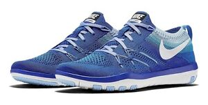 72df835e70ca0 New Nike Free TR Focus Flyknit Training Shoe 844817 401 Size womens ...
