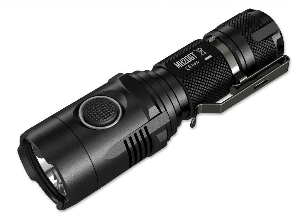 Nitecore MH20GT Torch Outdoor lamp Light 5 Light levels up 1000 Lum