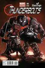 THUNDERBOLTS 1 VOL 2 V2 RARE EXCLUSIVE MIKE DEODATO JR. HASTINGS VARIANT