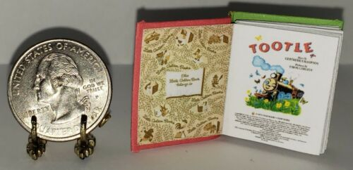 1:6 SCALE MINIATURE GOLDEN BOOK TOOTLE BARBIE PLAYSCALE