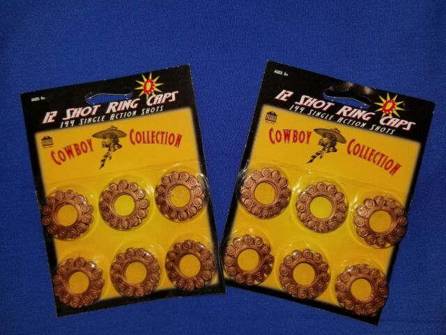 Parris Manufacturing 12 Shot Ring Caps  -- 2 Packs of 144 shots -- Factory New!