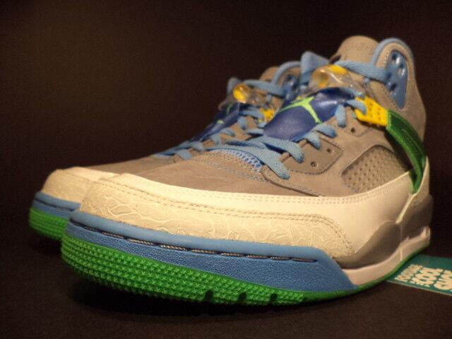 Nike Air Jordan SPIZIKE SPIZIKE SPIZIKE EASTER STEALTH CEMENT GREY GREEN blueE 315371-056 DS 10.5 e294a3