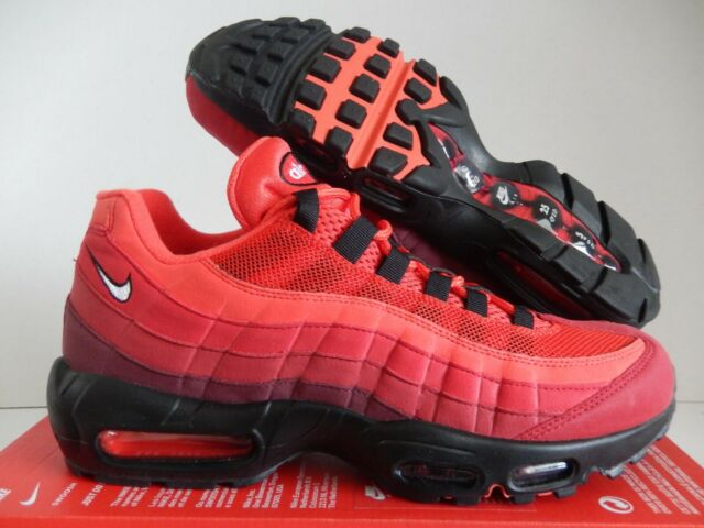 DS Nike Air Max 95 OG Habanero Red Mens Sz 10 Style At2865 600