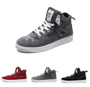 Mens-Sport-Casual-High-Top-Trainers-Outdoor-Hip-hop-Board-Street-Shoes-Fashion