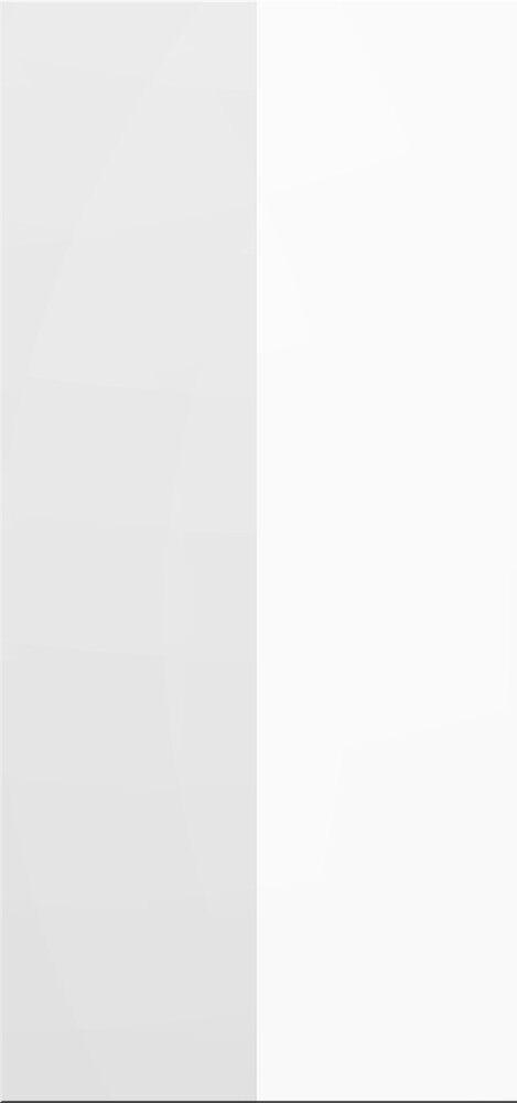 IKEA FAKTUM ABSCHLUSSFRONT 60x9.4cm HOCHGLANZ ABSTRAKT WEISS 100.675.80 NEU OVP