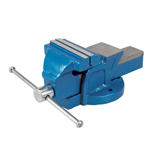 """4.5kg 633792 Jaw Capacity 120mm Silverline Engineers Workshop Vice 100mm 4/"""""""