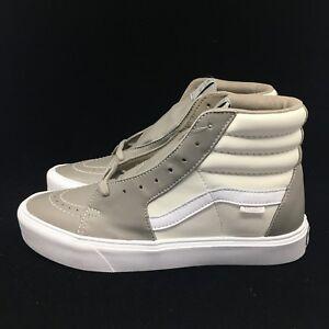c1352d82f152 Vans Vault Sk8-Hi Lite LX Premium Leather Moon Rock Marshmallow ...