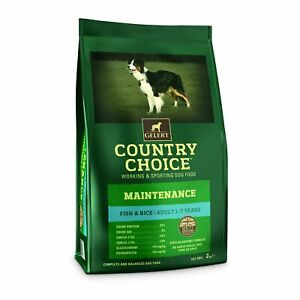 Gelert Country Choice Maintenance Poisson Blanc Et Riz, 12 Kg