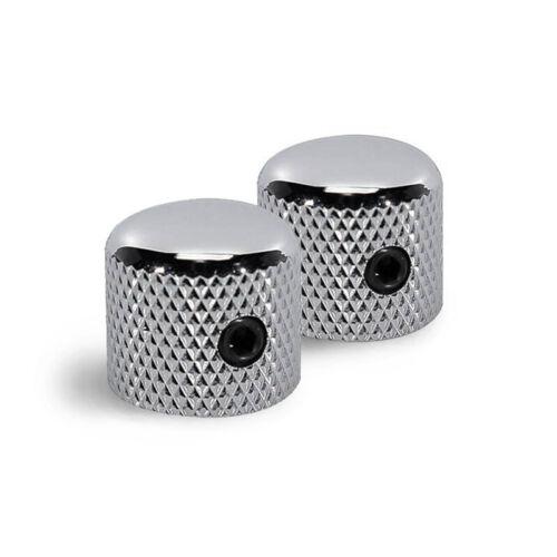 K31 2 x Solid round top metal barrel Control knobs 15mm