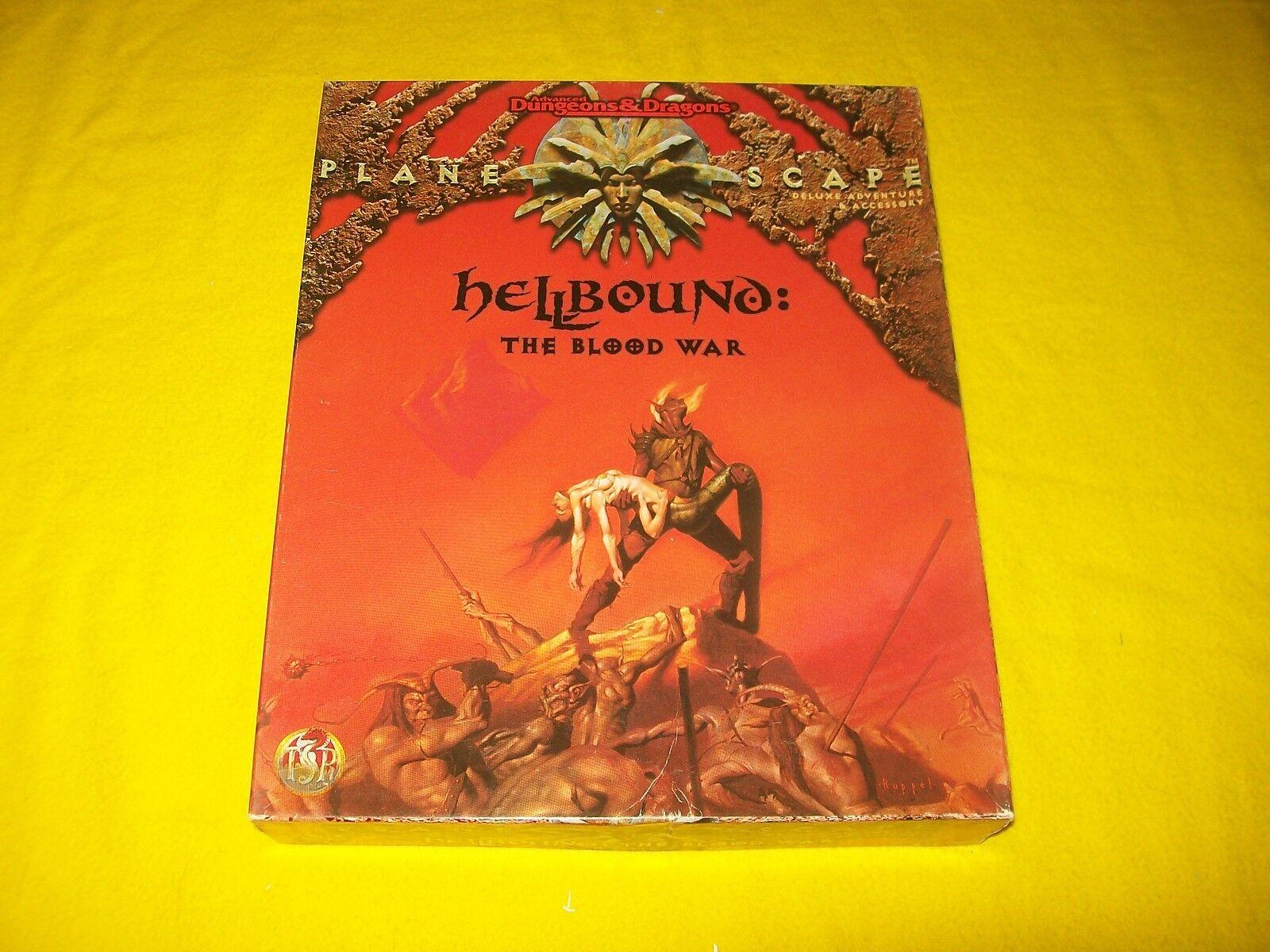 Hellbound la sangre guerra Planescape de Dungeons & Dragons AD&D TSR 2621 - 2 Completa