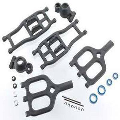 Rear True-Track A-Arm Conversion Black T//Emx RPM80942