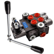 2 Spool Hydraulic Control Valve Double Acting Cylinder Spool 13gpm 3600 Psi