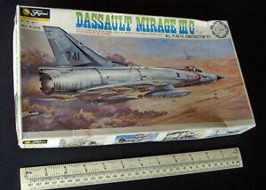 1970s Vintage Fujimi 1:48 Dassault Mirage IIIC French Fighter Bomber. Unused
