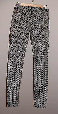 NWT HUDSON NICO MIDRISE SUPER SKINNY LOW RISE STRETCH JEANS NEW SIZE 27
