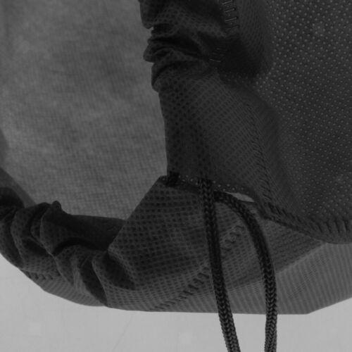12pcs Hommes Femmes Voyage Sacs à Chaussures Non Tissés à Cordon