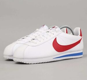 outlet store 2a4d4 ac6be Image is loading Nike-Classic-Cortez-OG-Leather-749571-154-White-