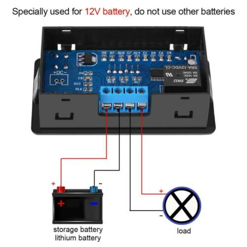 Battery Under-voltage Controller Low Voltage Switch Module Automatically