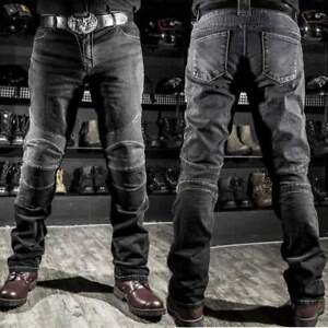 Cool-Men-Fitted-Motorcycle-Jeans-Motorbike-Pants-Denim-Trousers-Off-Road-Padded