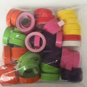 COLOURFUL BOAT STREAMERS ASSORTED COLOUR PACK OF 50 PARTY FAVOURS SUPPLIES