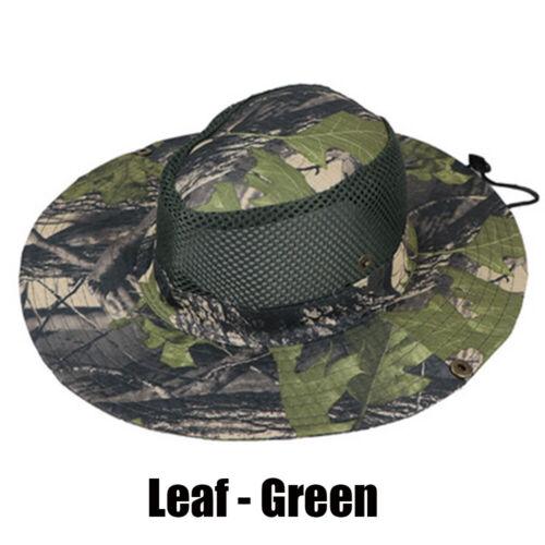 Fishing Visor Cotton Cowboy Camo Bucket Hat Sun Men Cap Military Tactics