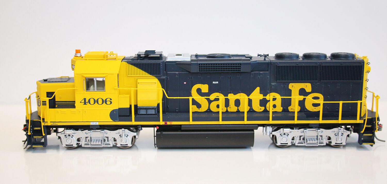 FOX VALLEY MODELS 20202 HO SCALE GP60 Early Santa Fe DCC READY - NEW