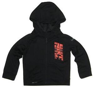 a7f9d56904 Nike Dri-Fit Toddler Boys Full Zip Sweatshirt Hoodie NWT Size 2T or ...