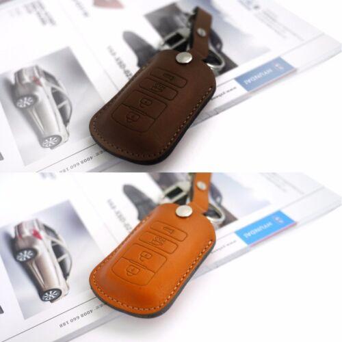 Promotion Natural leather Key Case Holder Cover for KIA 2013-2016 Cadenza K7