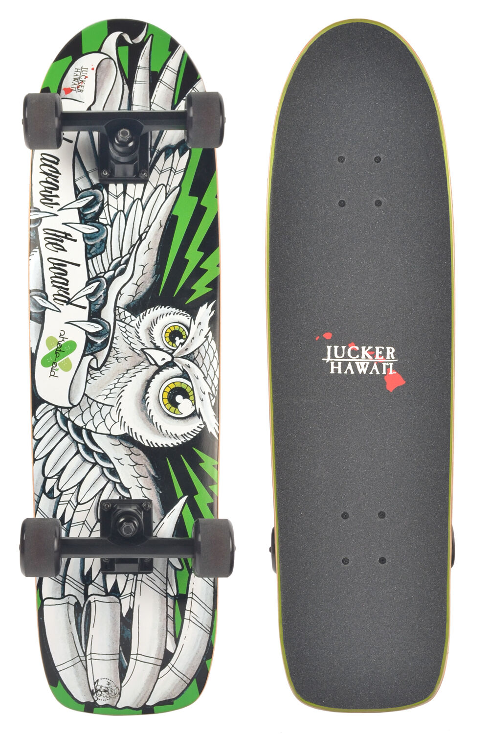 JUCKER HAWAII HAWAII HAWAII Skateboard Cruiser SKOWL 7a634d