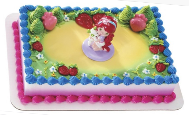 Amazing Cake Topper Strawberry Shortcake Best Friends Decopac For Sale Funny Birthday Cards Online Elaedamsfinfo