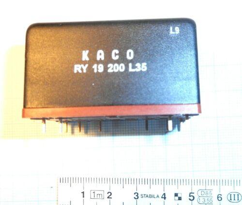 Netztrenn Relais KACO RY 19 200 2 x Ein  16A 250V Hengstler Spule 21 V