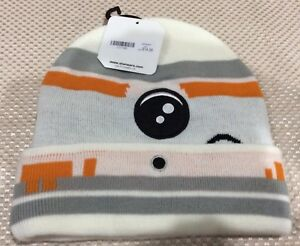 New Disney Star Wars BB-8 Beanie With tags one size Super Warm!  8e74df9f0906