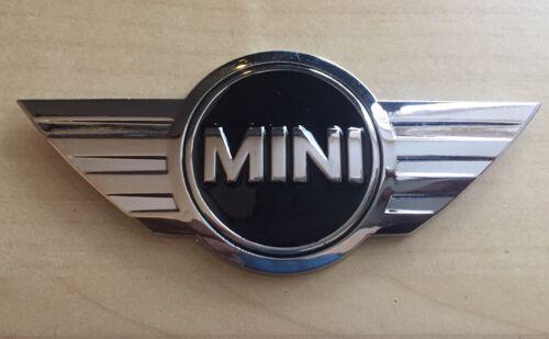 2 X Mini Coche Raro Bota De Metal 3D Cromo Insignia Cooper