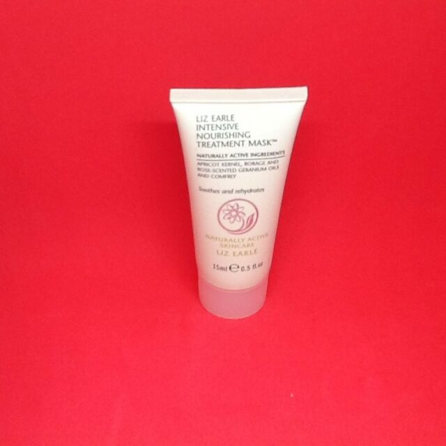 Liz Earle Intensive Nourishing Treatment Mask 15ml Travel Size great for winter