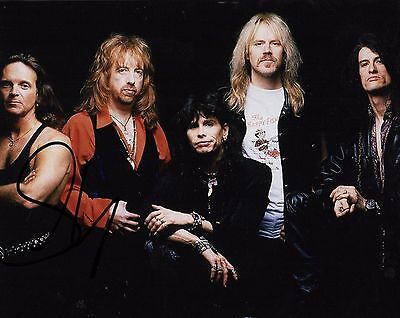 Signed Autograph 8x10 Photo S2 Coa Clever Gfa Aerosmith Singer Steven Tyler