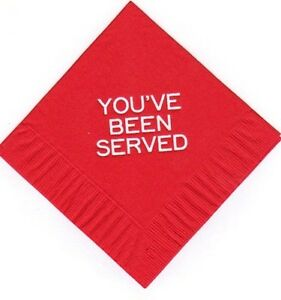 Youve been served