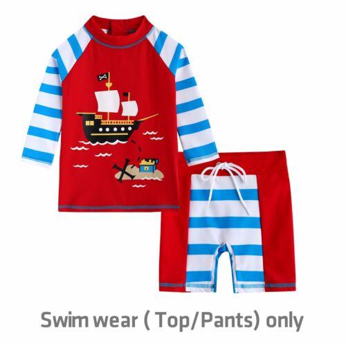 "Vaenait Baby Toddler UPF+50 Kids UV Rashguard Swimming set /""Boys swimsuit/"" 2T-7T"
